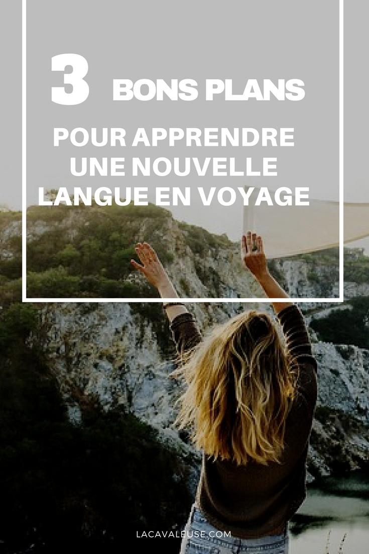 Voyager pour apprendre une nouvelle langue