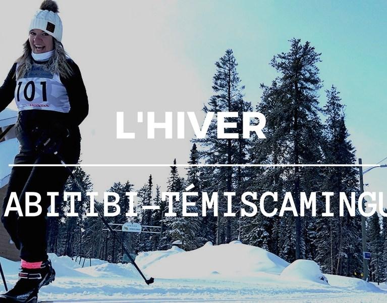 Abitibi-Témiscamingue en hiver