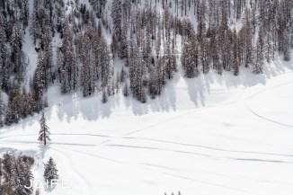 Piste de ski de fond - Queyras 2013