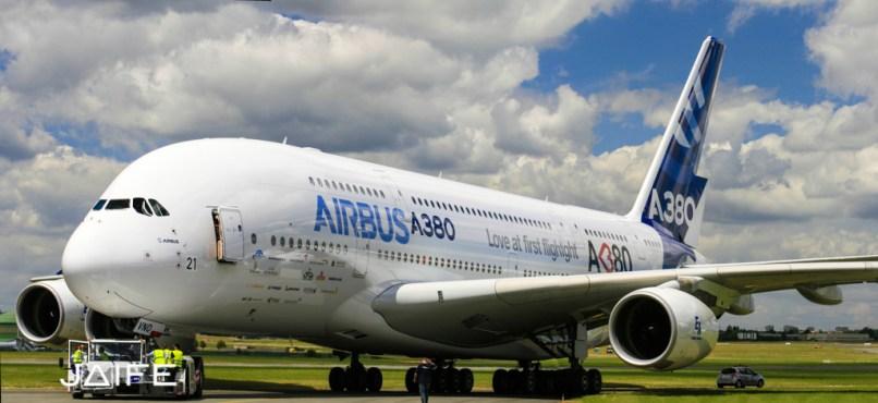 A380 sur le tarmac