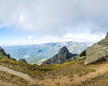 GR20 - Etape 3 et 4 - Croce - Usciolu - Col de Verde 1