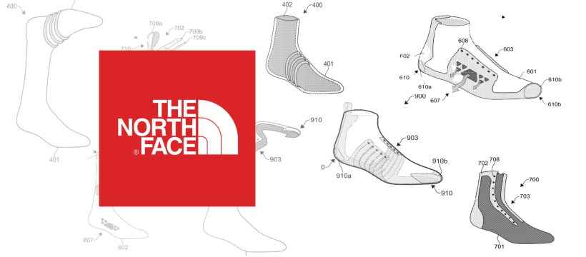 [Brevet] la chaussure double peau de The North Face 2