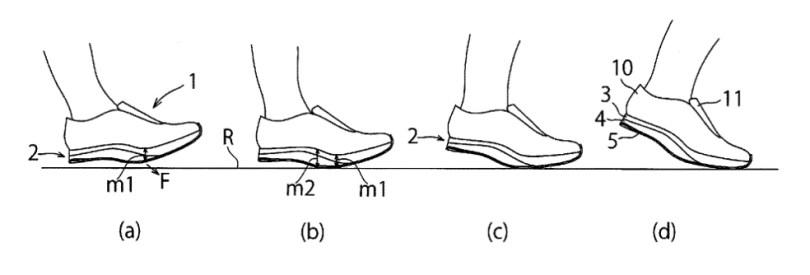 [Brevet] Mizuno et une chaussure sans talon 3