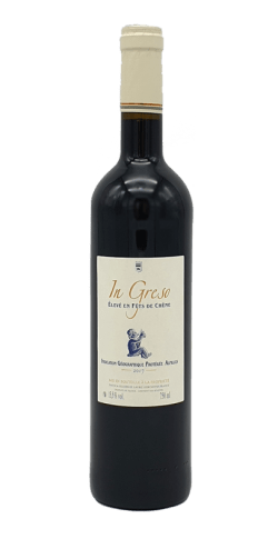 Bouteille vin In Greso rouge