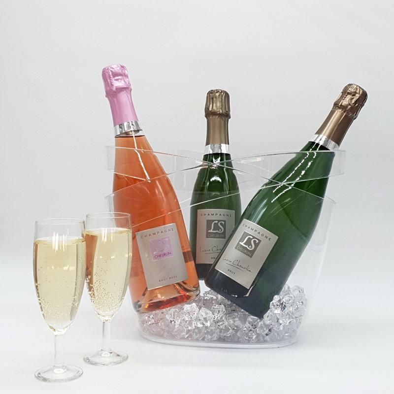 Champagne LS et flûtes