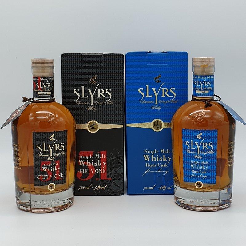 Whisky Slyrs cave de Noves