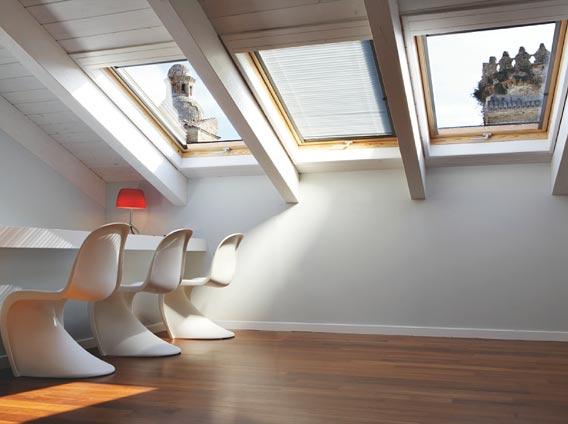 Finestre per tetti e mansarde  Lucernai  Rivenditore
