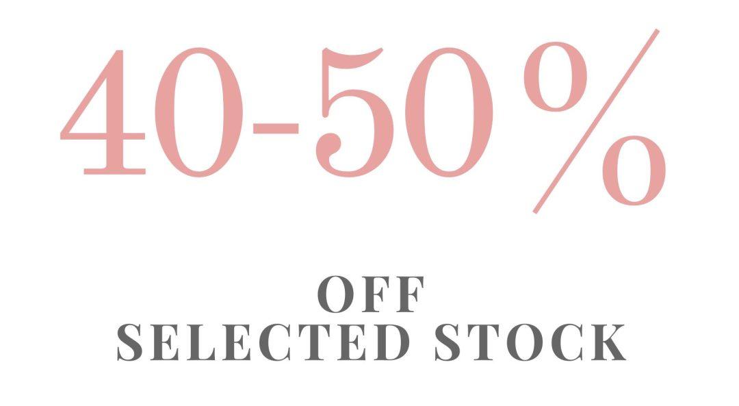 40-50% off EOFY Sale