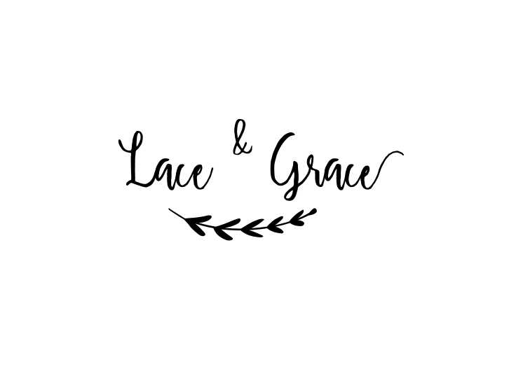 logo Lace & Grace création robes de mariée