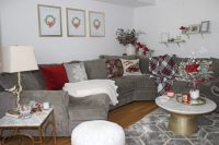 My Living Room for the Holidays - Lace & Lashes