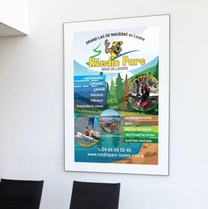 Rondin Parc affiche