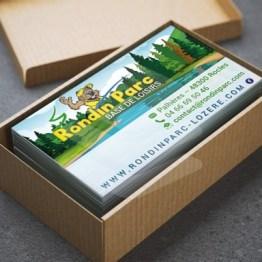 Rondin Parc Carte de visite