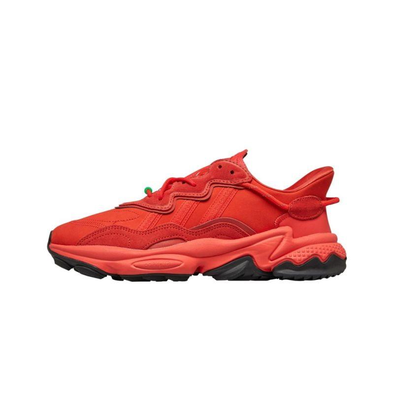 Adidas Originals Ozweego Hi Res Red Safety Green