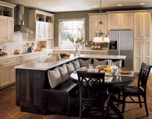 Kitchen Island Designs With Table Seating