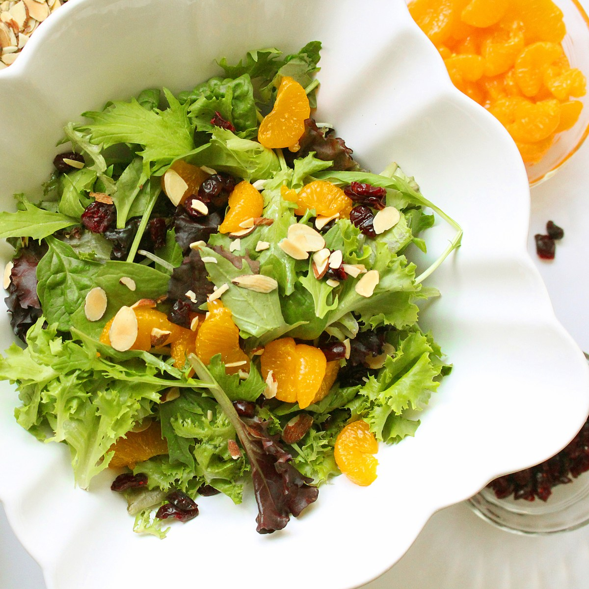 Cranberry Mandarin Orange Salad
