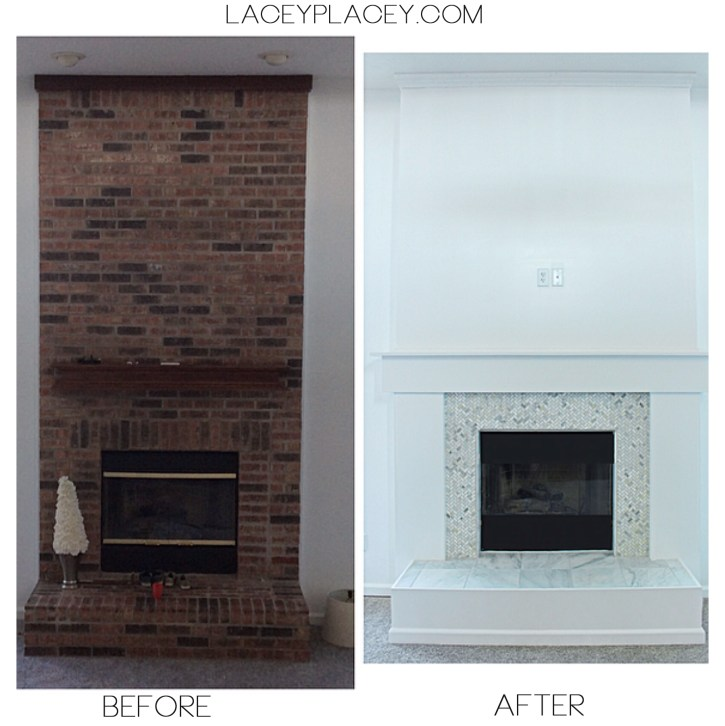 featured fireplace makeover words