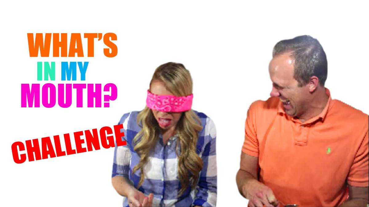 What's in your mouth challenge