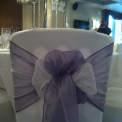 Chair Covers And Sashes To Hire Folding Plans Pdf Organza Bows For Wedding