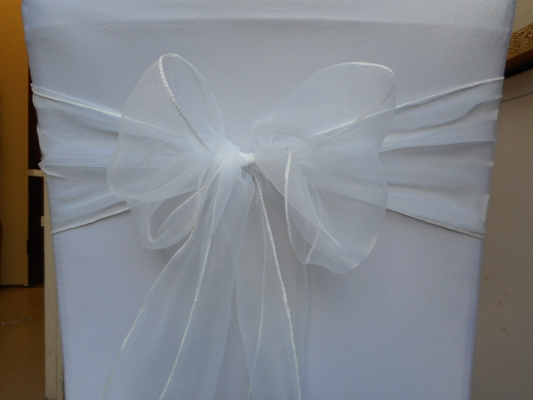 chair cover hire southend swivel rocker recliner leather organza sashes and bows for wedding covers