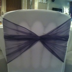 Chair Covers And Sashes To Hire Grey Dining Room Chairs Organza Bows For Wedding