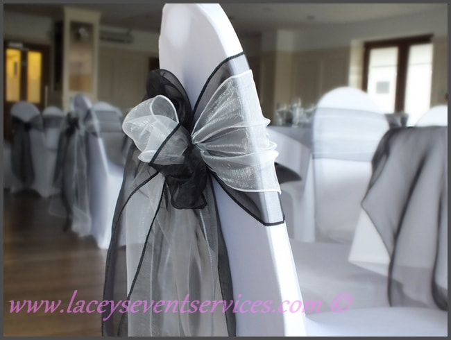 chair covers wedding london tufted leather with ottoman and sashes hire southend on sea we cover essex kent hertfordshire laceys event services decor