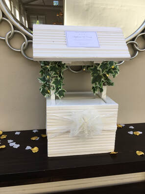Wedding Wishing Well Amp White Replica Royal Mail Post Box Hire In Essex LACEYS EVENT SERVICES