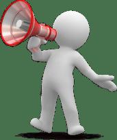 figure-megaphone