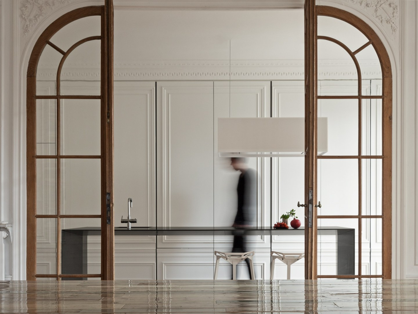 1 - Invisible kitchen - design by 129