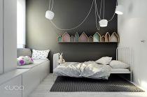 ... anche qui su sfondo grigio, by Kuoo Architects: kuoo.pl