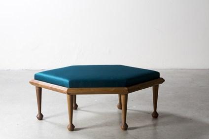 NILUFAR DEPOT - Hexalong Bench by Martino Gamper - Selected by La Chaise Bleue (lachaisebleue.com)