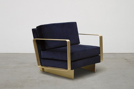 NILUFAR DEPOT - C Armchair by Claude Missir - Selected by La Chaise Bleue (lachaisebleue.com)
