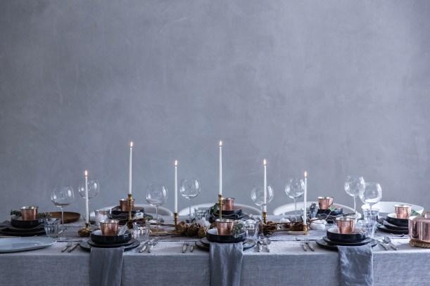 Weekend links #1   La Tavola di Natale   Christmas Table Settings   Selected by La Chaise Bleue (lachaisebleue.com)