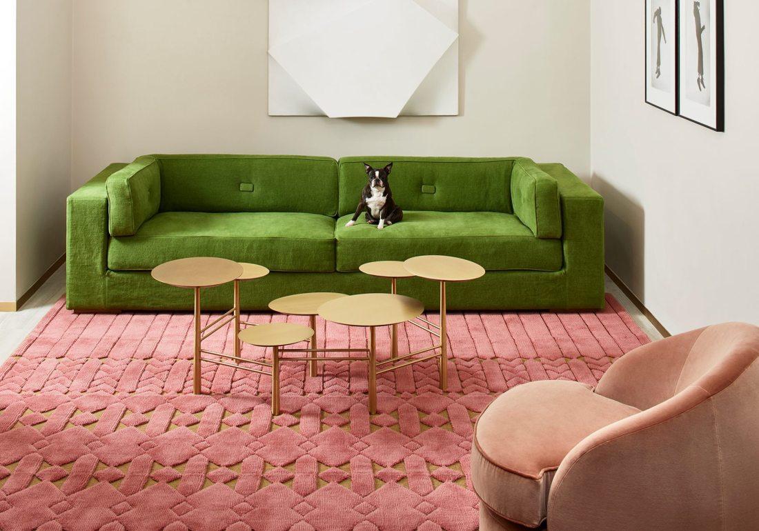 Maison&Objet Paris 2018 | Tappeto JARDIN D'INTERIEUR 2018, di India Mahdavi per Manifacture Cogolin | Selected by La Chaise Bleue (lachaisebleue.com)