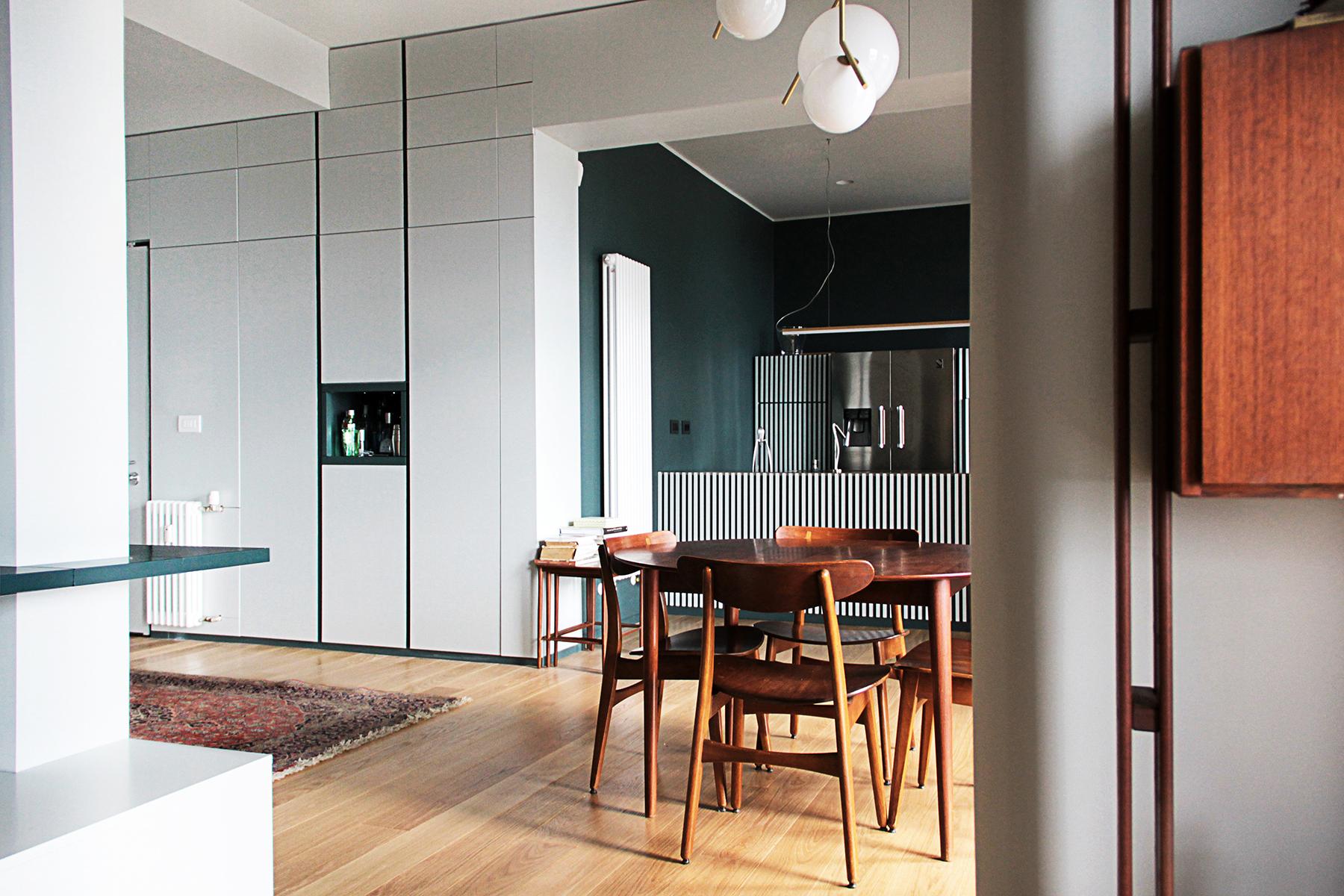 Appartamento a Genova, progetto architetto Luna Vetrani 3pa | Selected by La Chaise Bleue (lachaisebleue.com)
