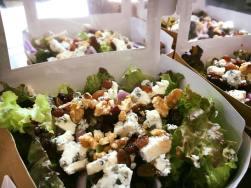 Salade au Bleu d'Auvergne AOP