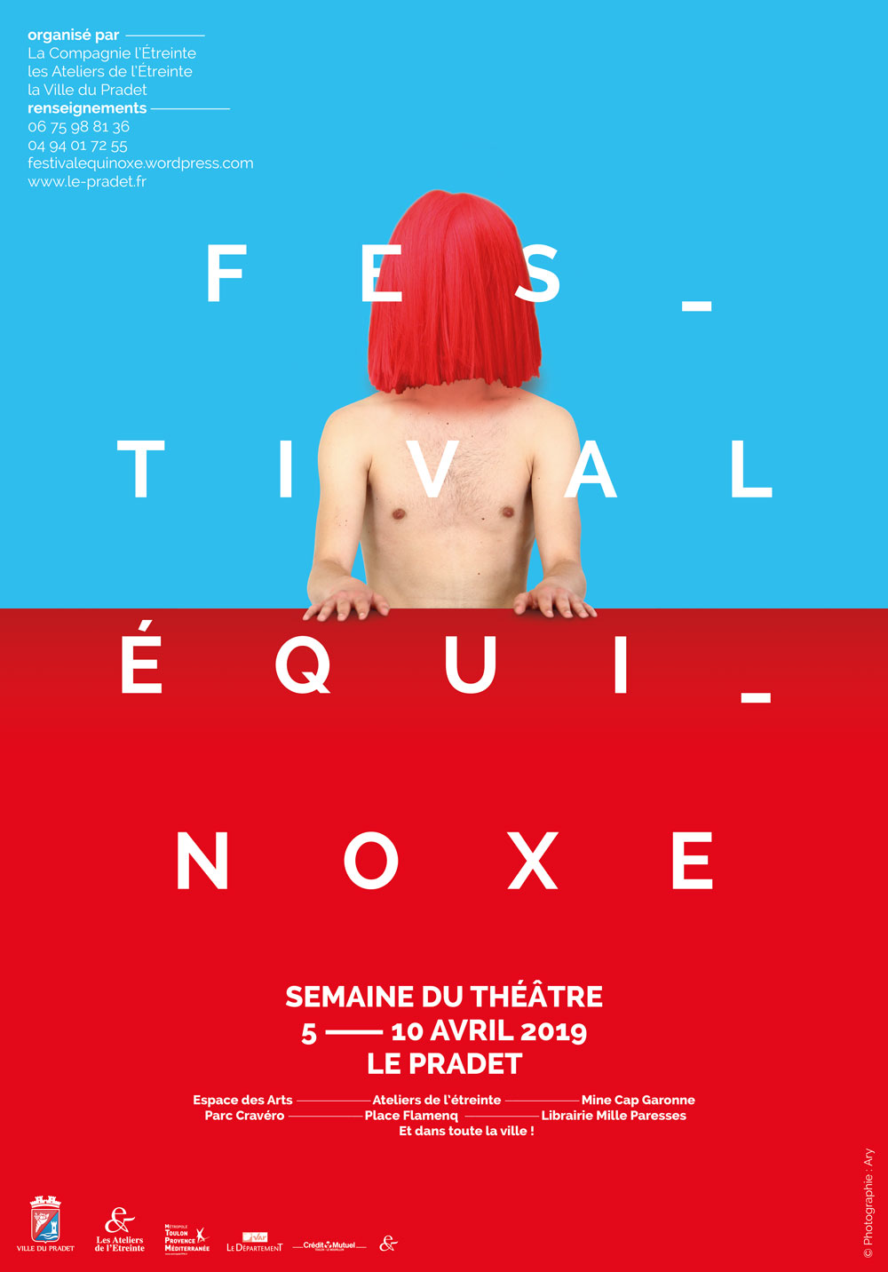 Festival Equinoxe au Pradet du 05 au 10 avril