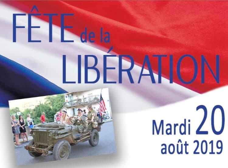 Fête de la Libération le 20 août à Solliès Toucas