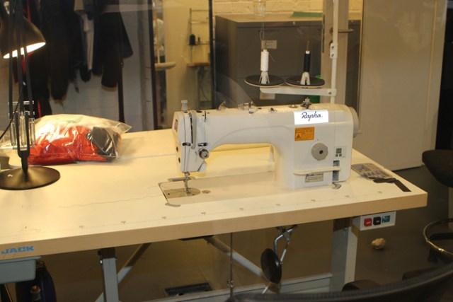 Si Rapha fait fabriquer à l'étranger, les prototypes sont élaborés ici, à Londres