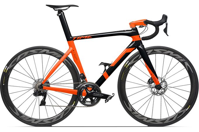 Time Scylon Noir orange