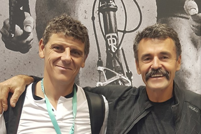 Tom Ritchey et Richard Jamin