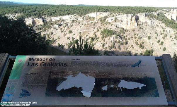 mirador de las gullurias cañon del rio lobos soria