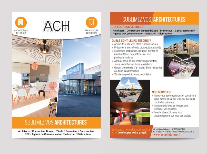 Fiche architecture ACH PHOTO