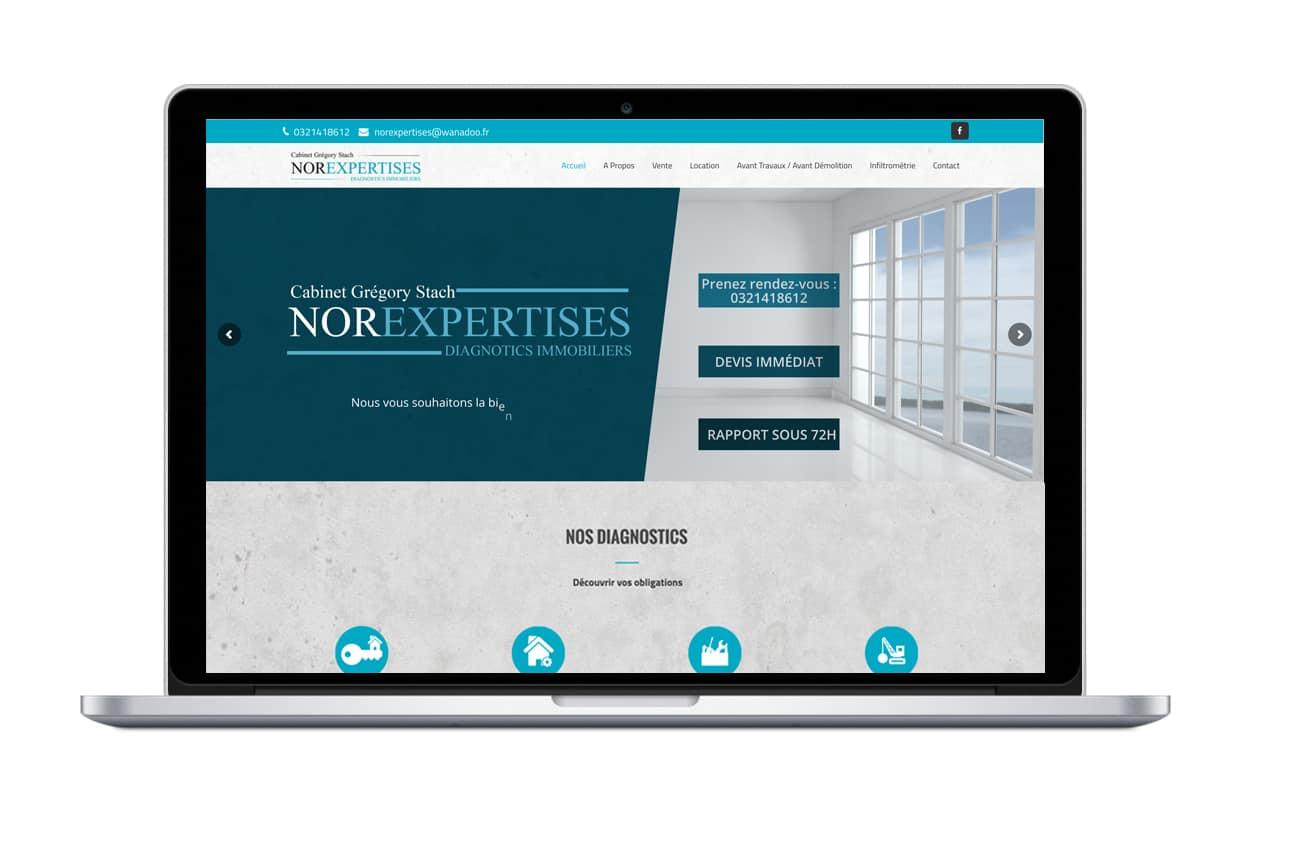 Site internet Norexpertises