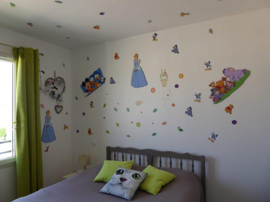Chambre pour enfant villa bord de mer