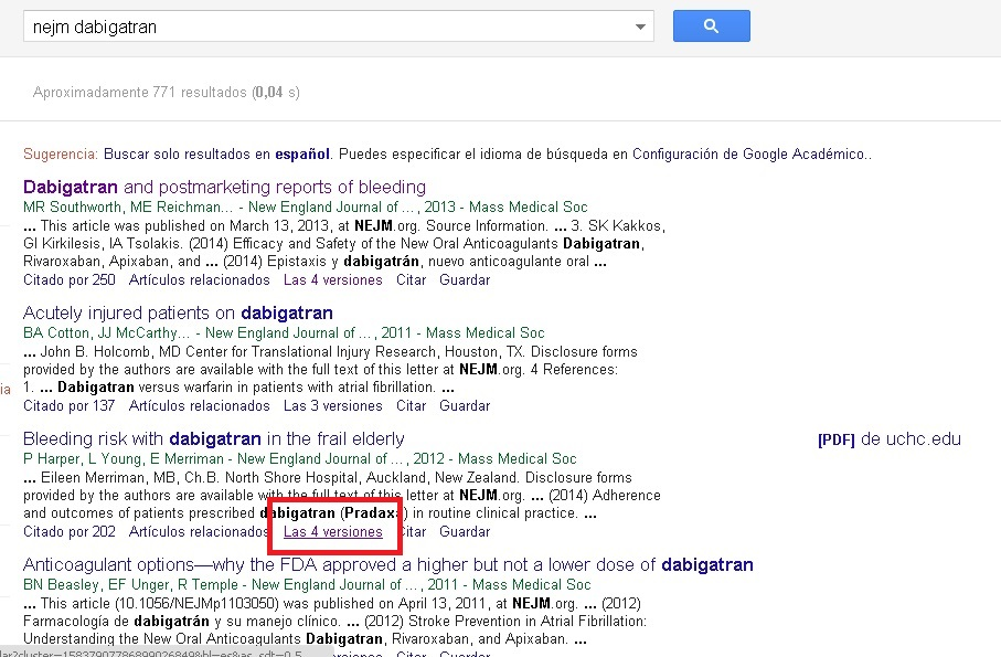 google scholar related