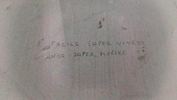 Museo Storico della Liberazione - Graffito