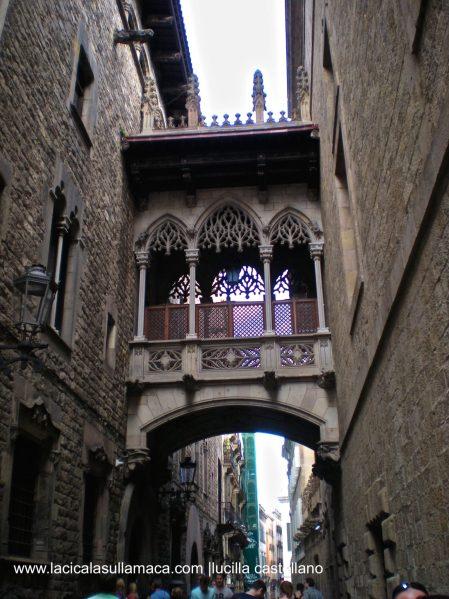 Quartieri di Barcellona cosa vedere _Calle Obispo