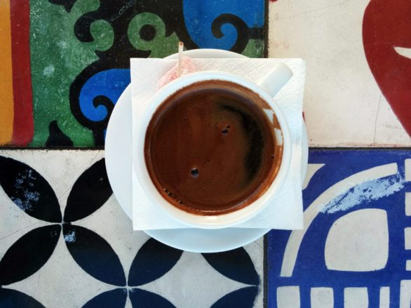 cosa mangiare in Grecia - Caffè greco