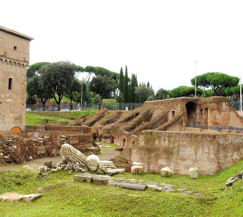 l'area archeologica del Circo Massimo