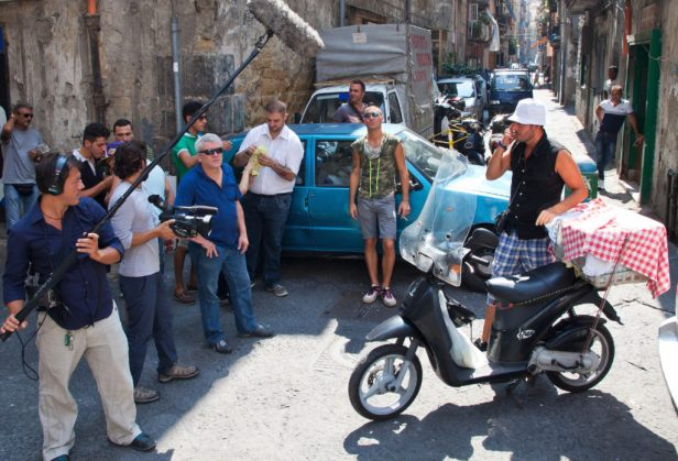 Bronx-Film-Napoli-Set